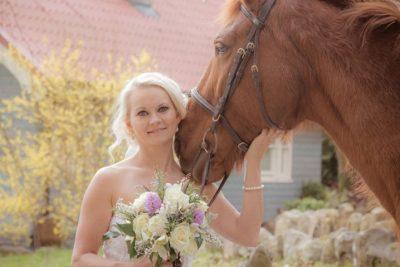 horse wedding galway ireland