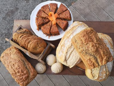homemade organic bread