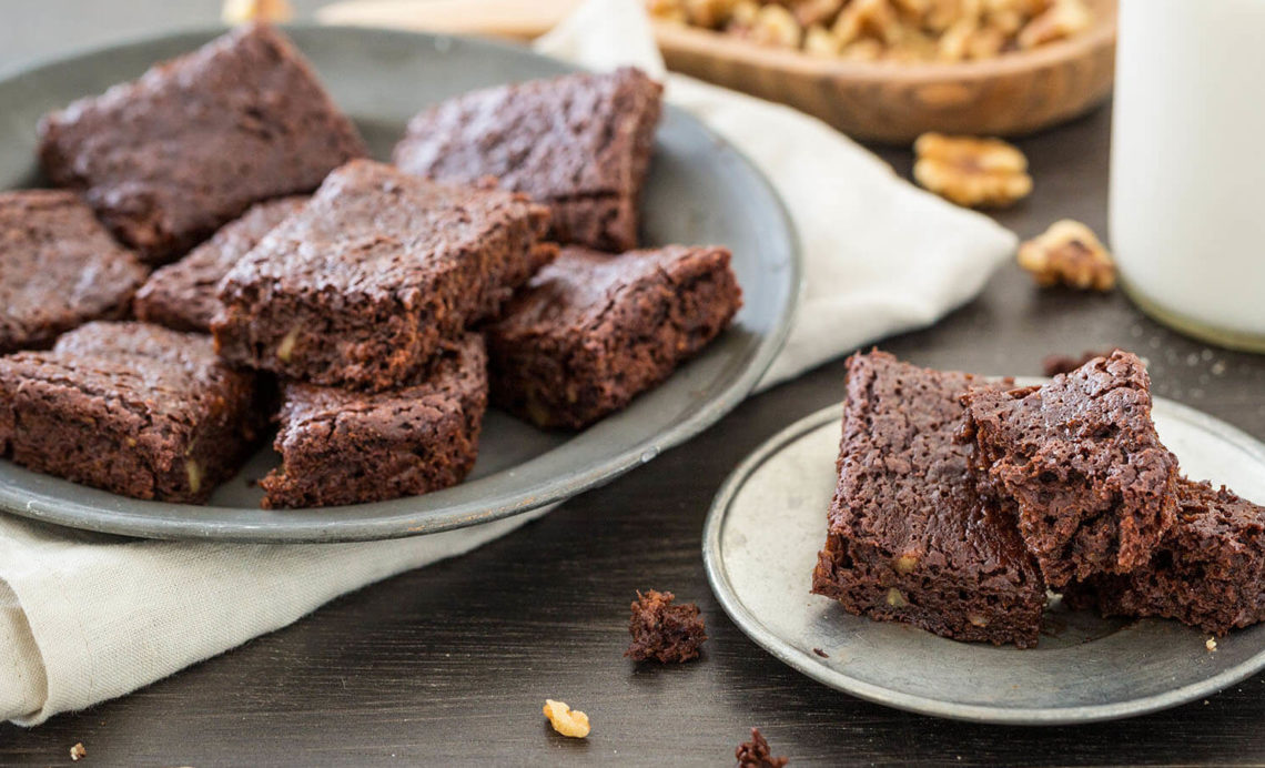 gluten and lactose free brownies